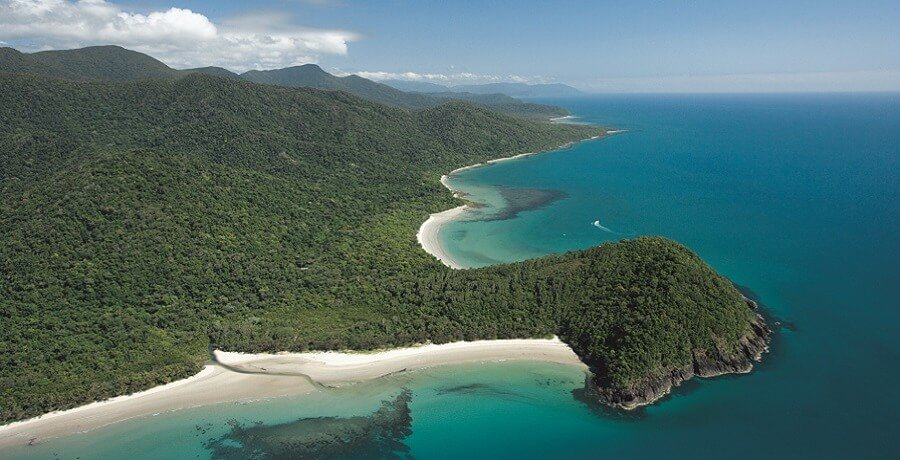 Aerial Cape Tribulation